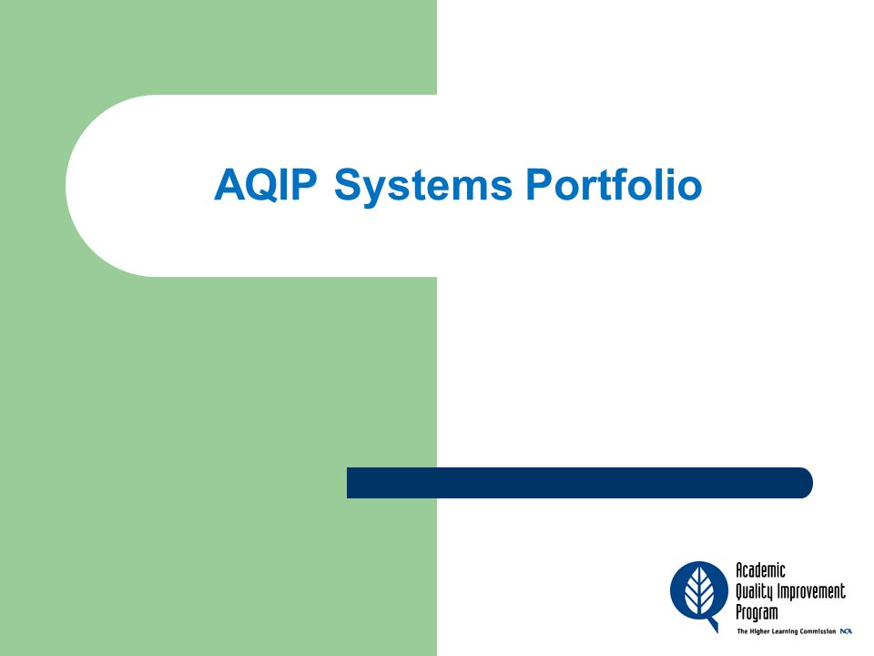 What is the System's Portfolio.