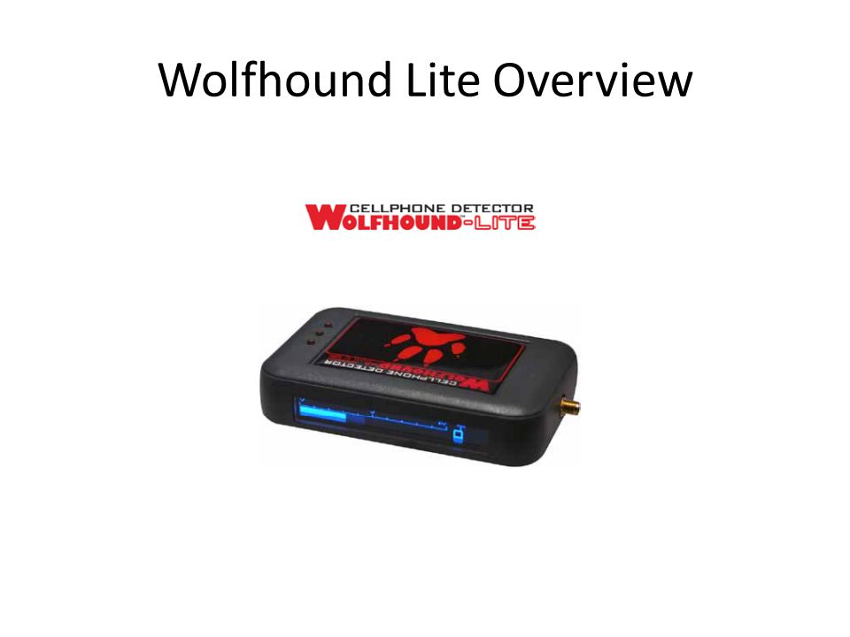 Wolfhound Lite Overview