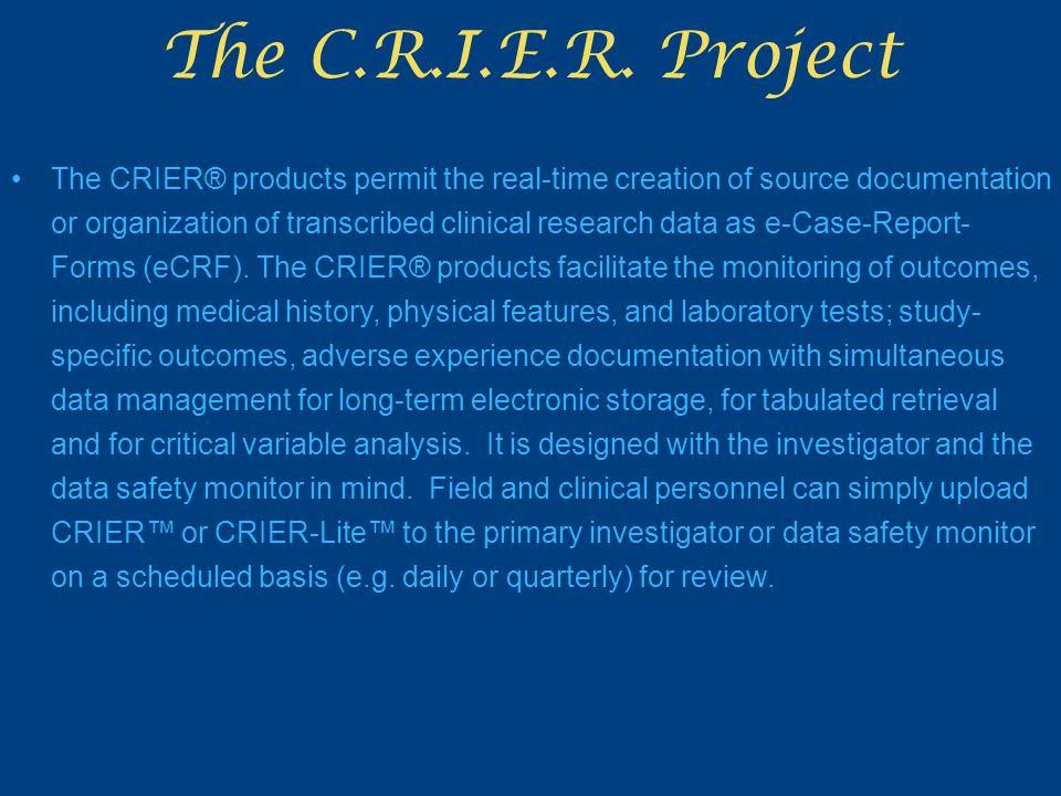 The C.R.I.E.R.