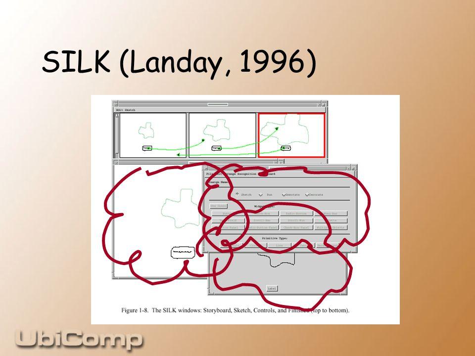 SILK (Landay, 1996)