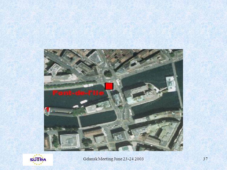 Gdansk Meeting June 23-24 200337