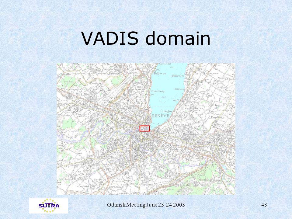 Gdansk Meeting June 23-24 200343 VADIS domain