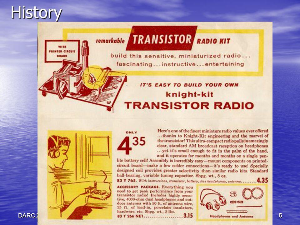 DARC 2 FEB 2010www.wb5rvz.com5History