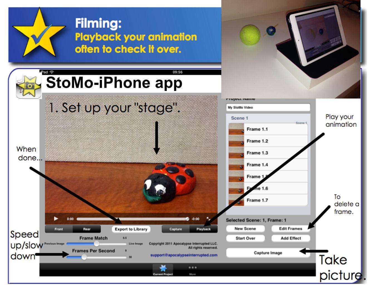 StoMo-iPhone app