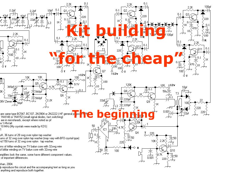 Kit Building on the Cheap The beginning Kit building for the cheap The beginning