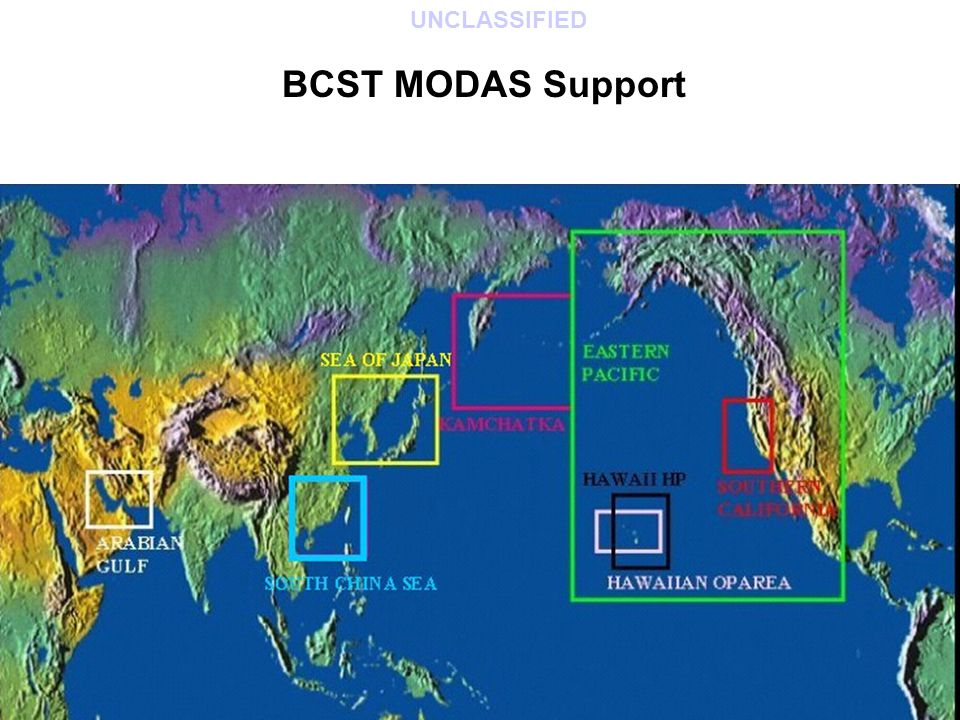 BCST MODAS Support UNCLASSIFIED