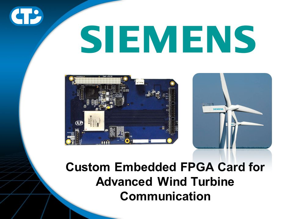 Custom Embedded FPGA Card for Advanced Wind Turbine Communication