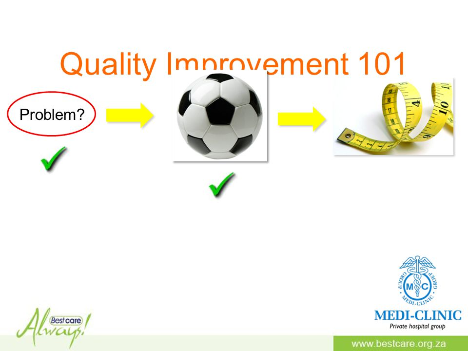Quality Improvement 101 Problem