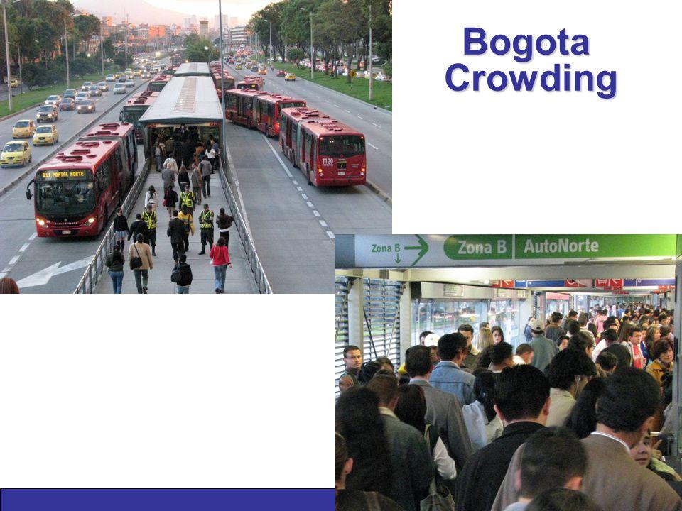 Bogota Crowding