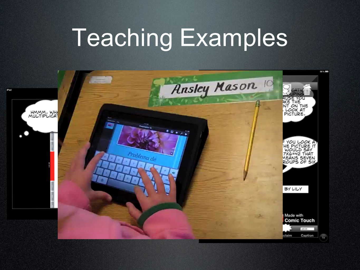 Increase reading fluency using Voice Memos or QuickVoice apps Fun for the young