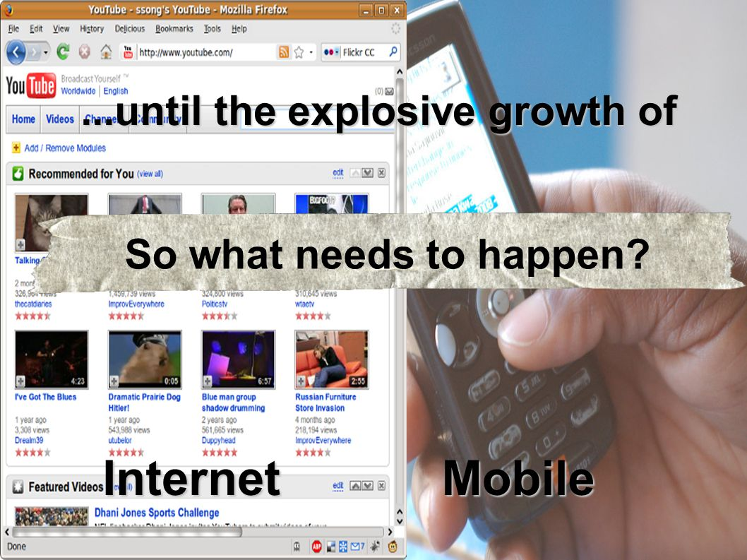 InternetMobile So what needs to happen