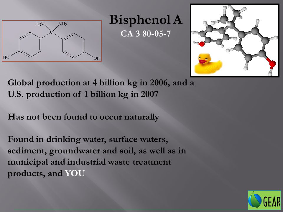 September 3, 2008: National Toxicology Program (NTP) Finalizes Report on bisphenol A: Current human exposure to bisphenol A (BPA), is of some concern for effects on development of the prostate gland and brain and for behavioral effects in fetuses, infants and children.