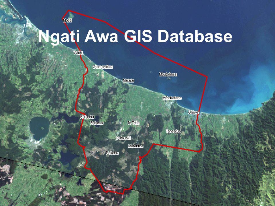 1 Ngati Awa GIS Database
