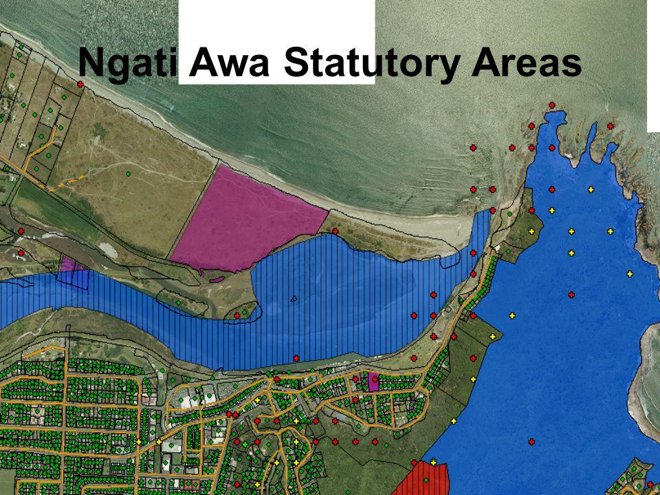 Ngati Awa Statutory Areas