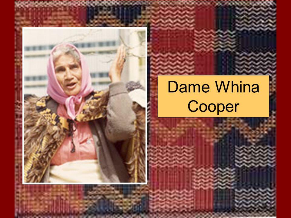 Dame Whina Cooper