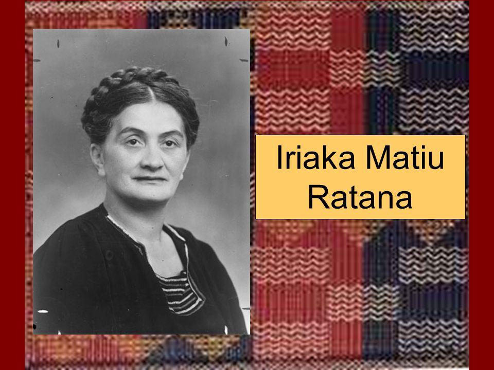 Iriaka Matiu Ratana