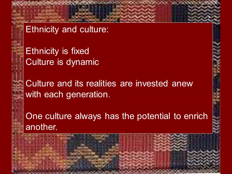 Each culture tends to define giftedness in its own image.
