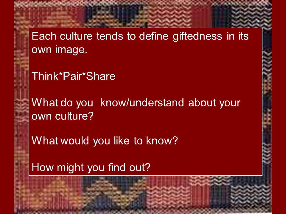 Identifying Characteristics of Maori Giftedness Rangatiratanga (ranga – to weave, tira – a company – leadership that inspires unity) Pita and Claire Mahaki: