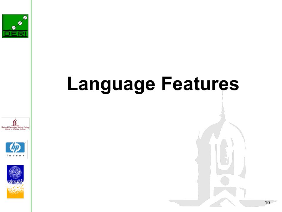 10 Language Features