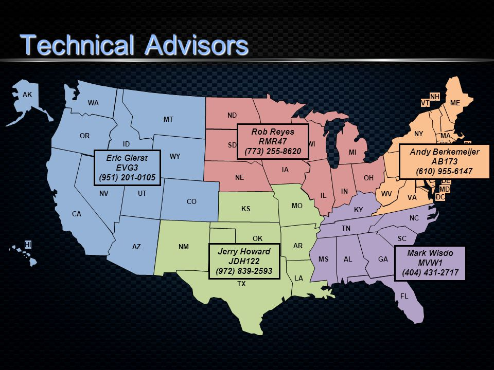 Technical Advisors