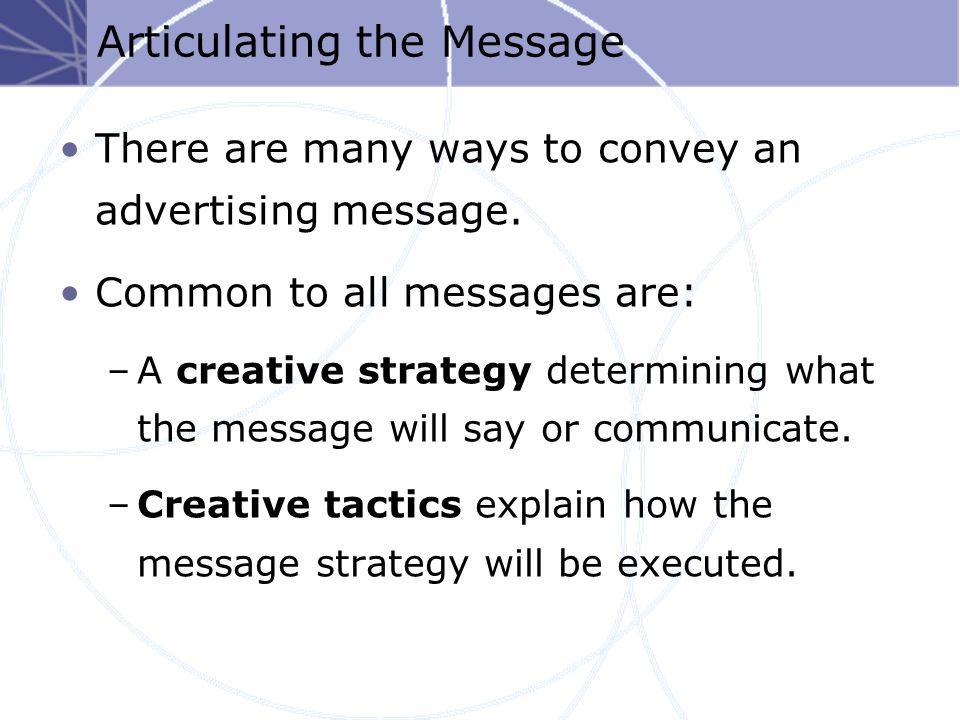 Creative Development Process Creative Brief Creative Objectives Creative Strategy Client Evaluation Creative Execution