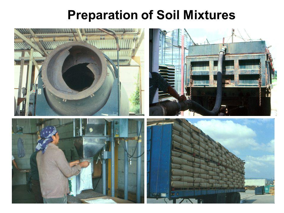 Preparation of Soil Mixtures