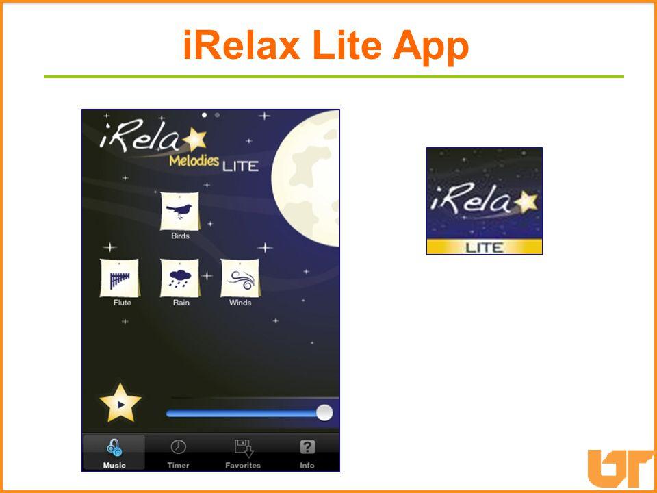 iRelax Lite iRelax Lite App
