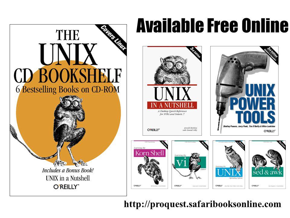 Available Free Online http://proquest.safaribooksonline.com