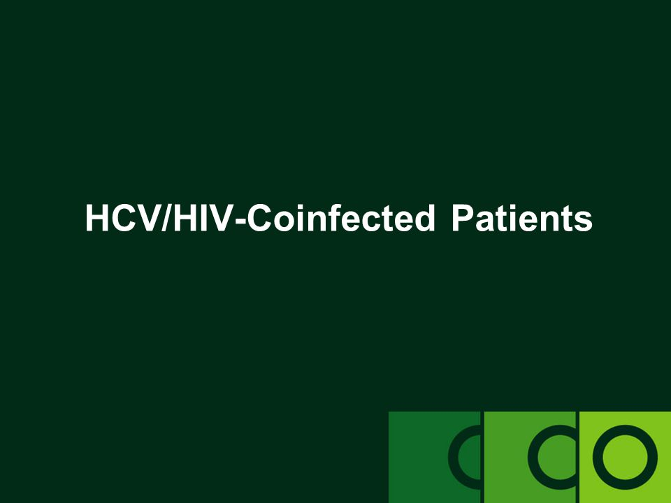 HCV/HIV-Coinfected Patients