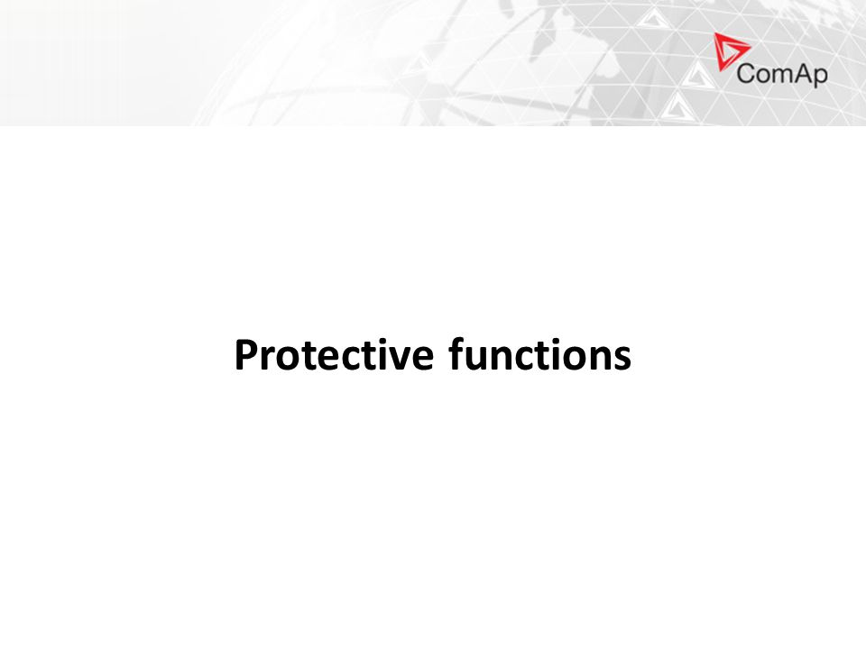 Protective functions