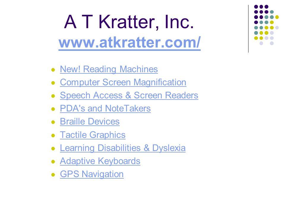 A T Kratter, Inc. www.atkratter.com/ www.atkratter.com/ New.
