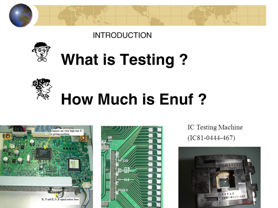 Testers cost over $1 000 000 Cost of Testing VLSI Test System TS600