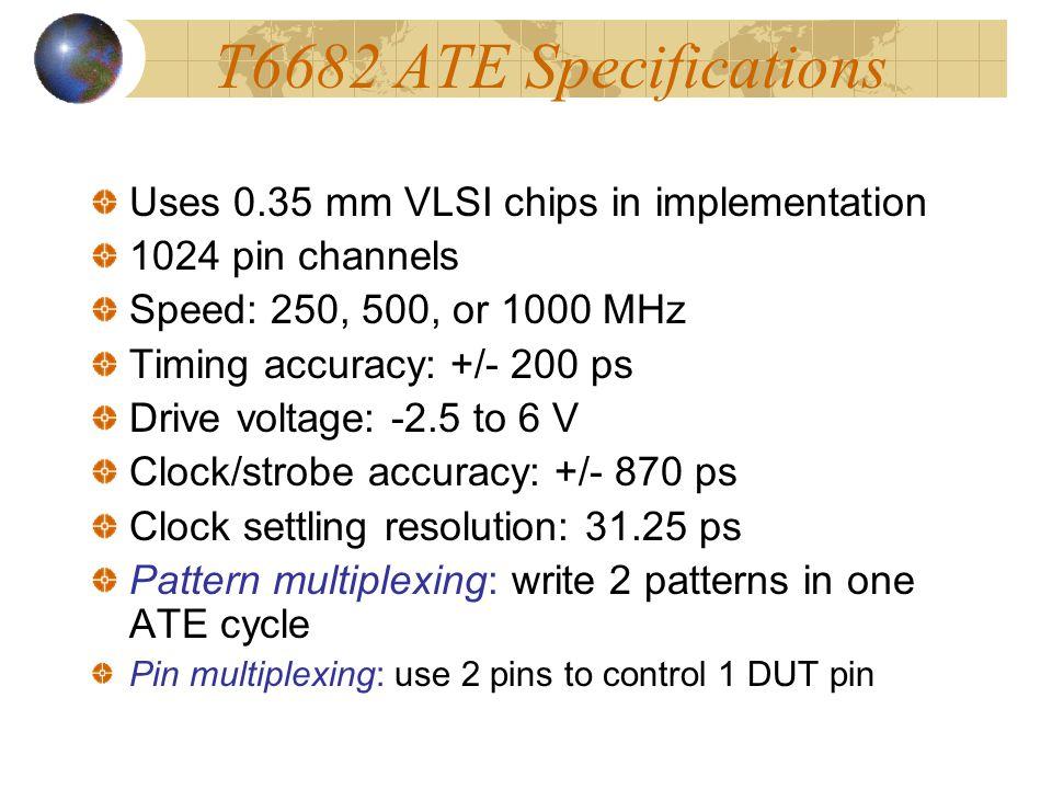 T6682 ATE Block Diagram