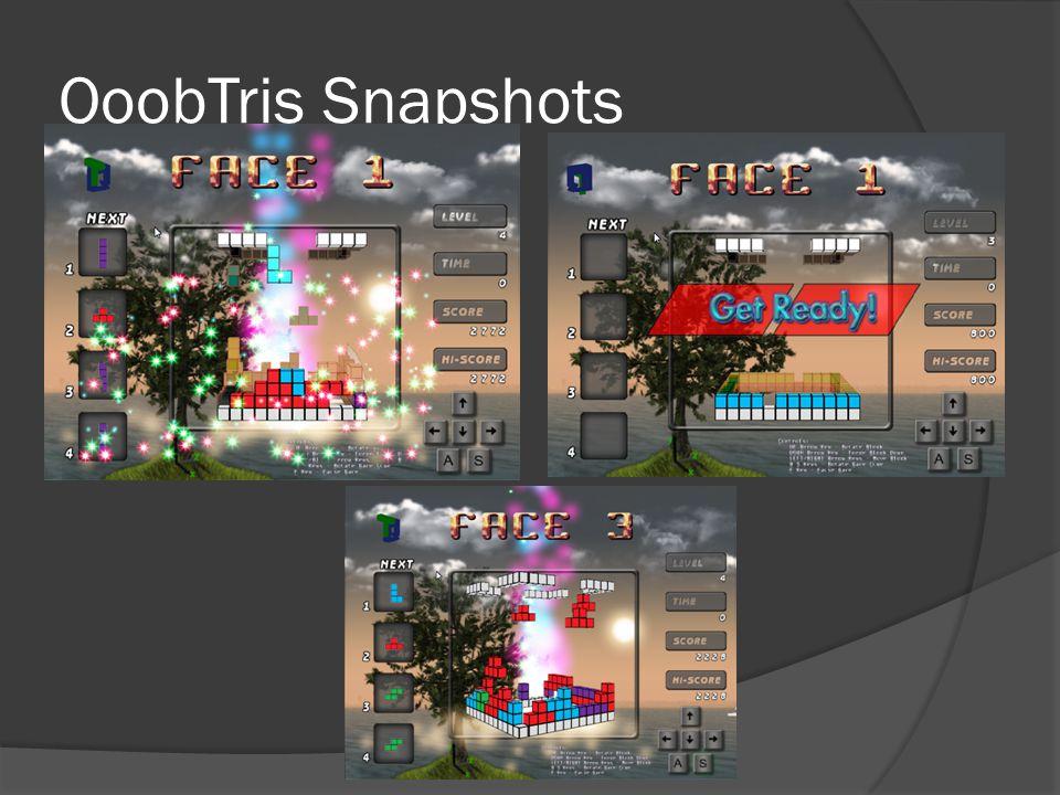 QoobTris Snapshots
