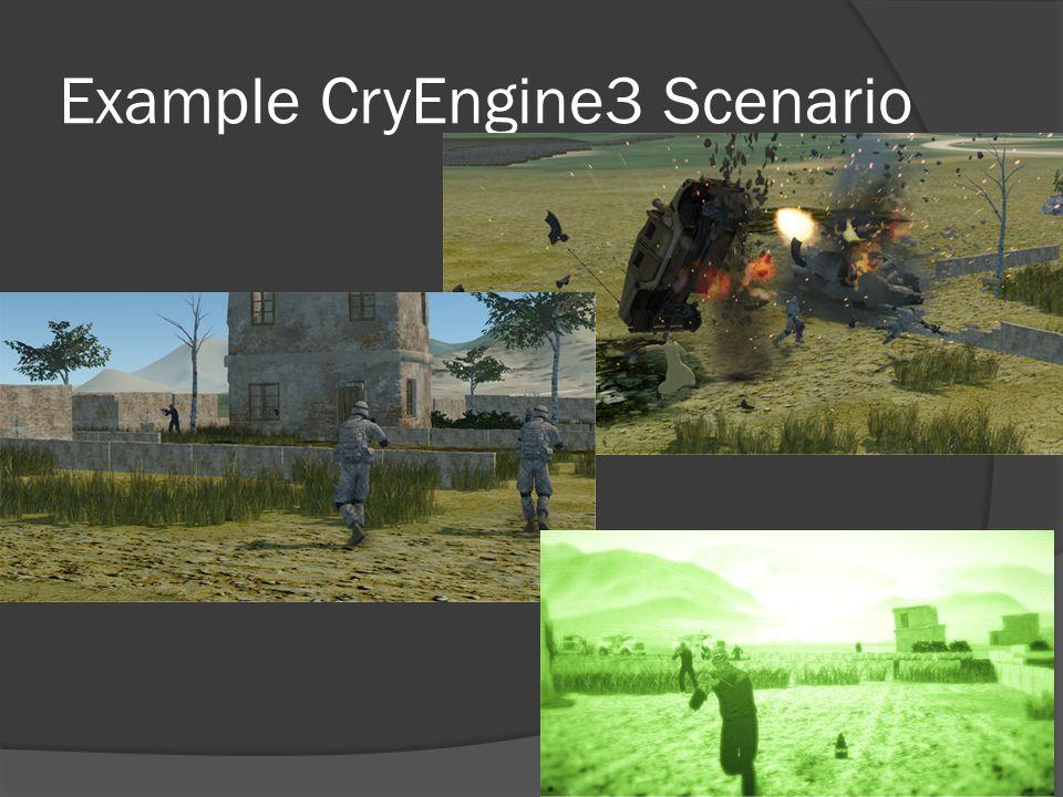 Example CryEngine3 Scenario