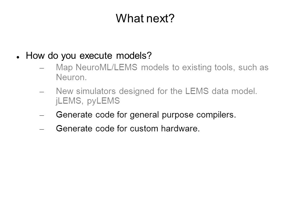 Why generate code rather than using Neuron, Moose, Genesis, Brian, PSICS etc.