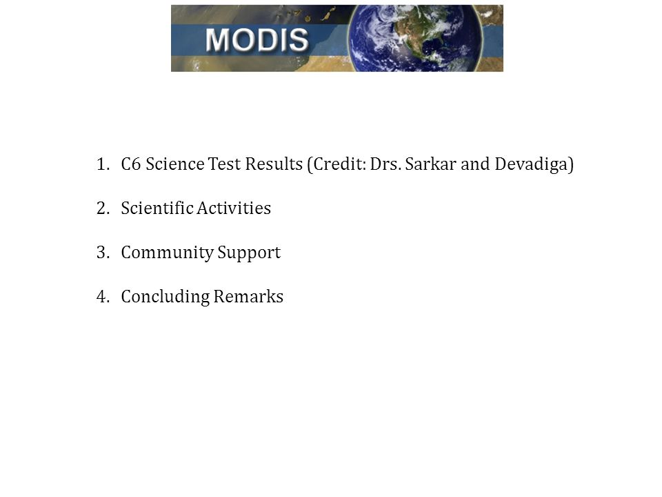 1.C6 Science Test Results (Credit: Drs.