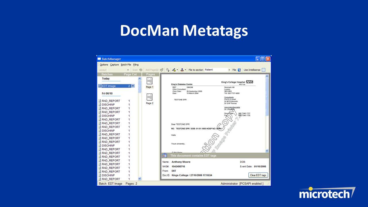 DocMan Metatags