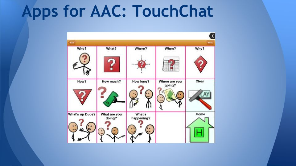 Apps for AAC: TouchChat