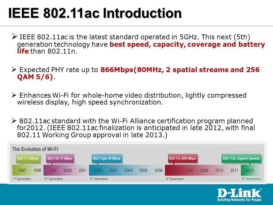 DIR-850L : 11ac Actual Throughput Mbps  Test result in Shielding Room