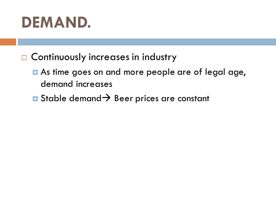  Television Advertising Data: Beer Industry- Top Four Firms.