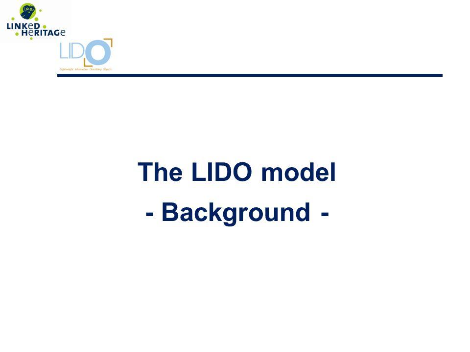 LIDO Structure Administrative Metadata Resource Information