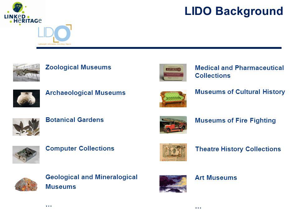 The LIDO model - Schema Design -