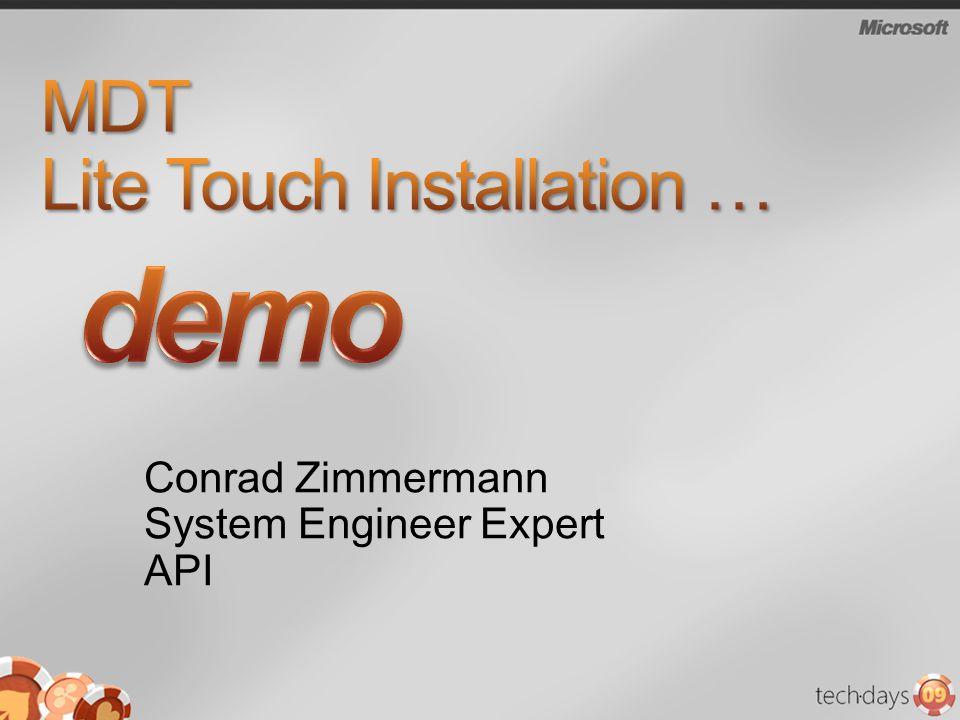Conrad Zimmermann System Engineer Expert API