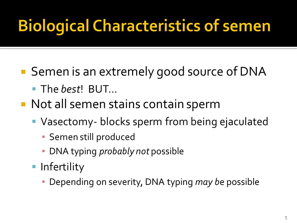  Semenogelins  Higher concentration in seminal fluid than PSA  Not found in urine, milk, sweat  Greater specificity for semen than PSA  Detected with immunochromatographic test strip assay 16