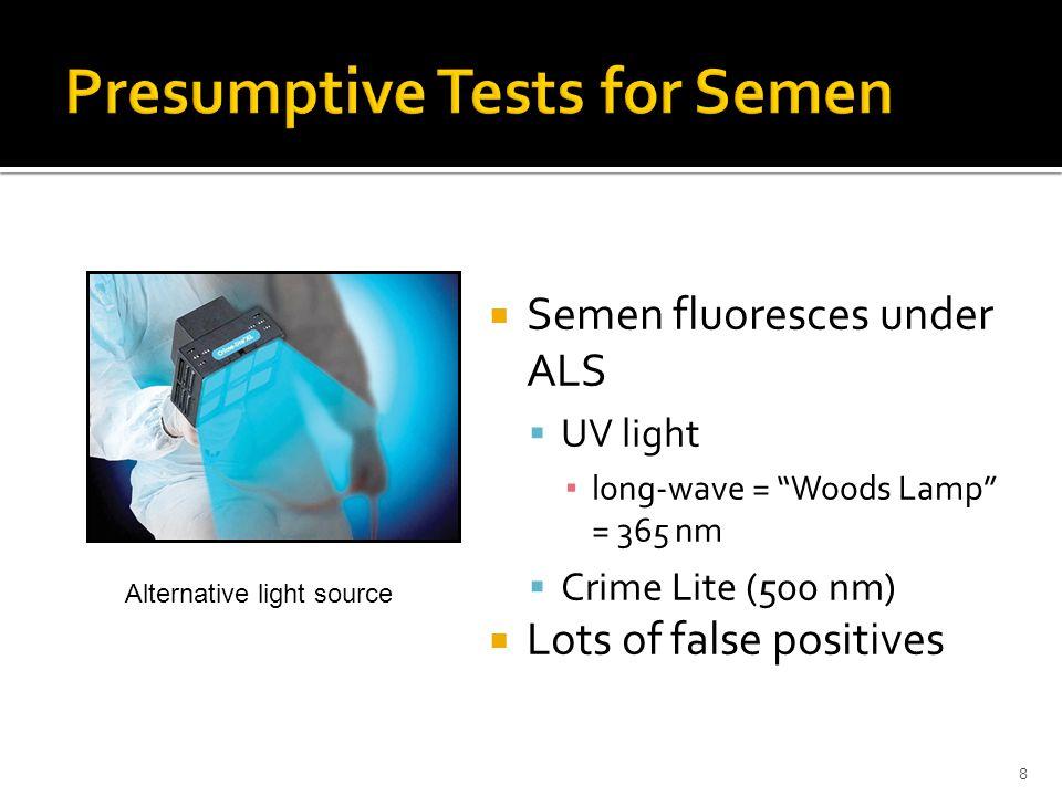 19 T C Negative RSID™ semen test