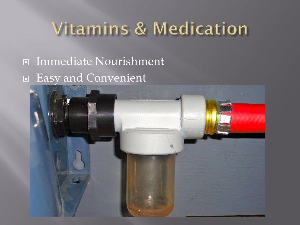  Immediate Nourishment  Easy and Convenient