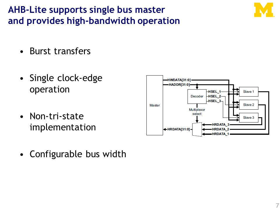 Our processor Over 100 interrupt sources –Power on reset, bus errors, I/O pins changing state, data in on a serial bus etc.