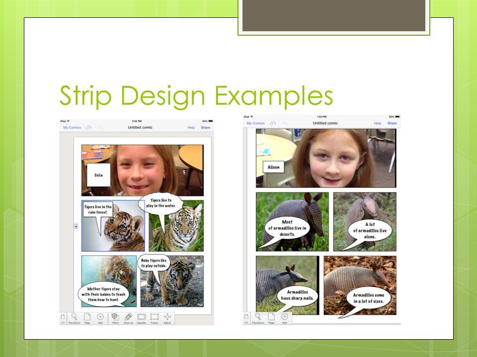 Strip Design Examples