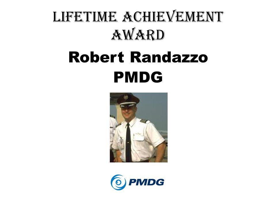 Lifetime achievement Award Robert Randazzo PMDG